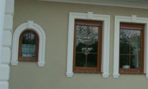 Domy jednorodzinne - Sztukateria Elewacyjna DJ 40