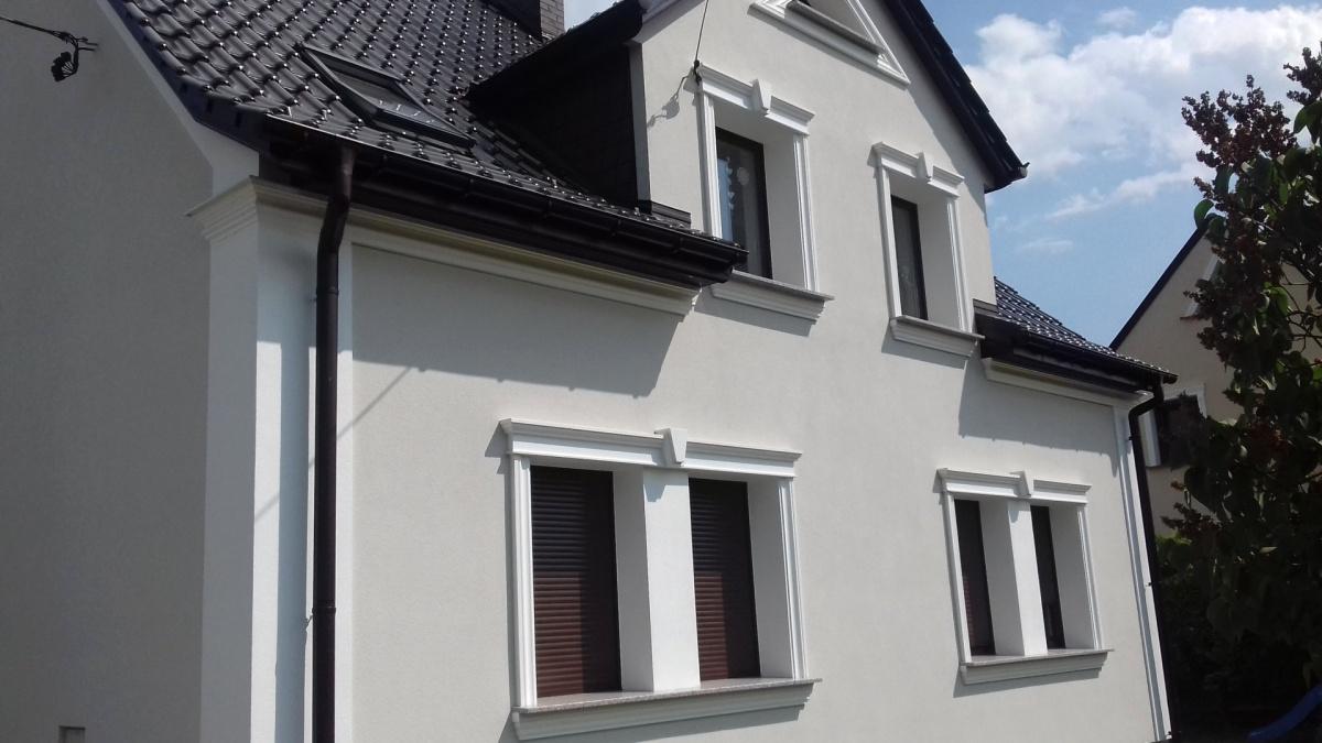 Klassische oder Moderne Fenster-Faschen