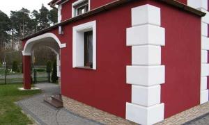 Domy jednorodzinne - Sztukateria Elewacyjna DJ 29