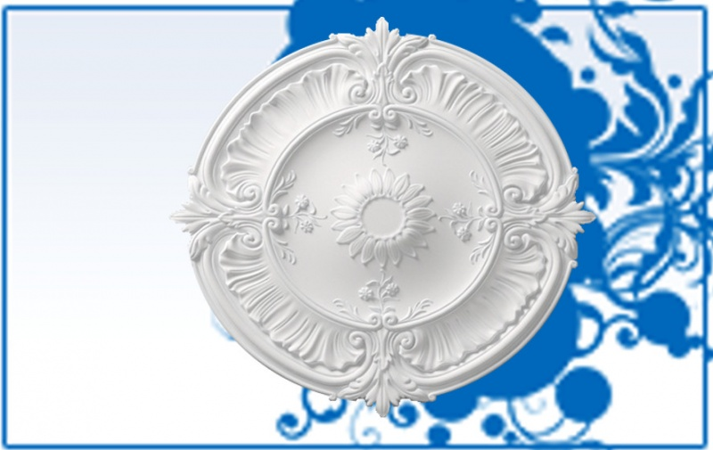 Decorative Rosette R24