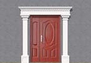 Set Of Stucco Facade ZO29