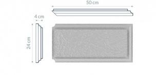 Bonia narożna strukturalna BN8W - 50