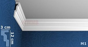 styropor leiste m1 stuckfassade wmb hersteller von. Black Bedroom Furniture Sets. Home Design Ideas