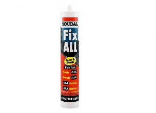 Adhesive SOUDAL FIX ALL HT for WMB stucco