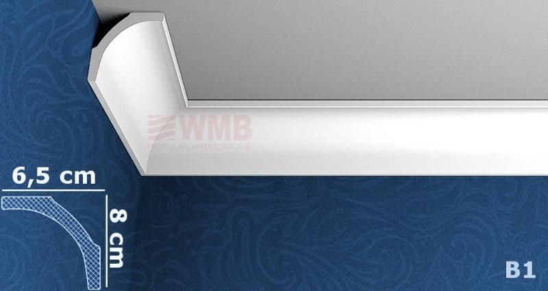 B1 styrofoam coving