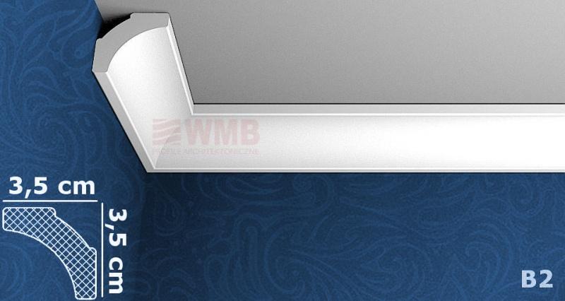 styropor leiste b2 stuckfassade wmb hersteller von stuckprofilen. Black Bedroom Furniture Sets. Home Design Ideas