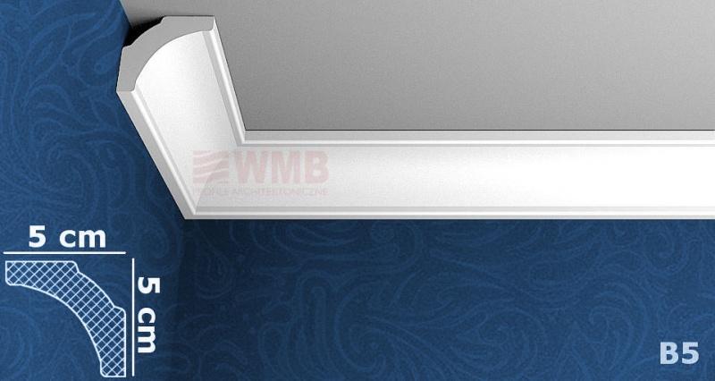 B5 styrofoam coving