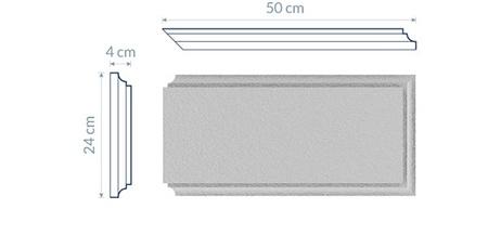 Corner Quoin BN1 - 50