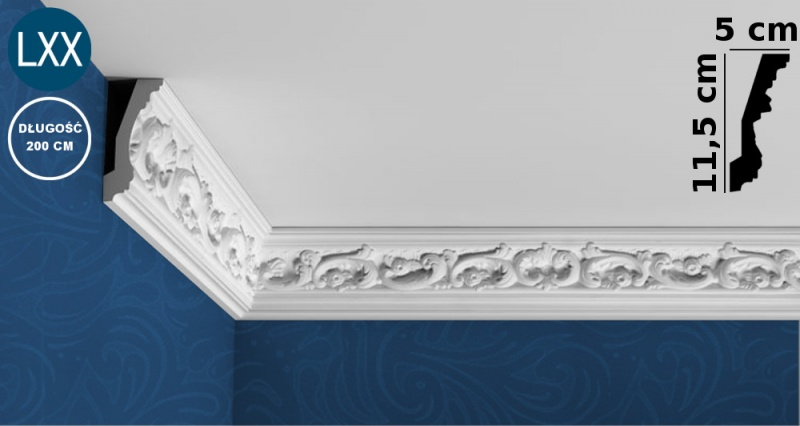 Ceiling Moulding C201 FLEX
