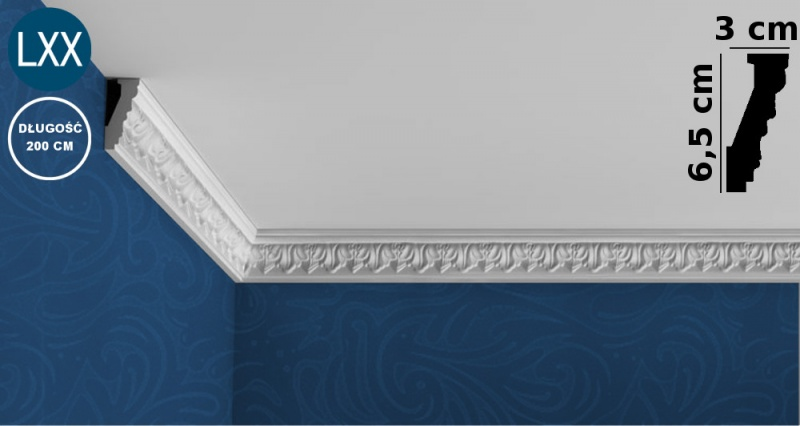 Ceiling Moulding C214 FLEX