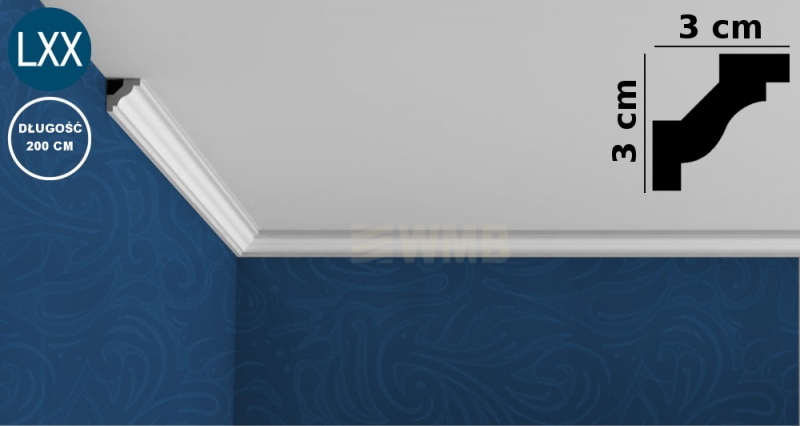 Ceiling Moulding C230 FLEX