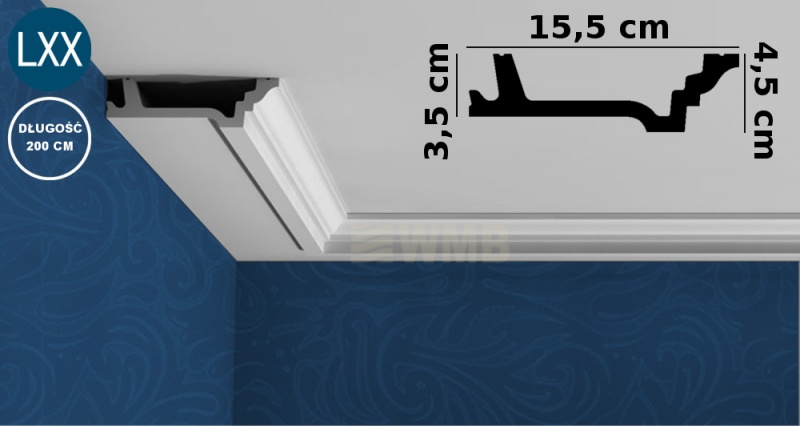 Ceiling Moulding C305