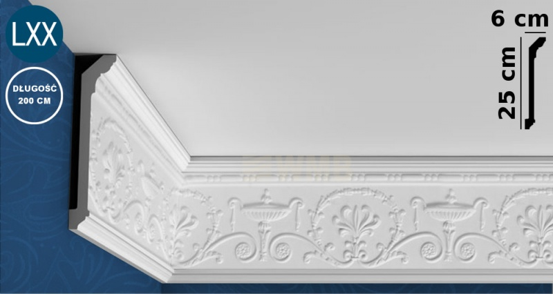 Ceiling Moulding C308