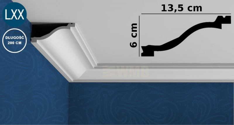 Ceiling Moulding C331 FLEX