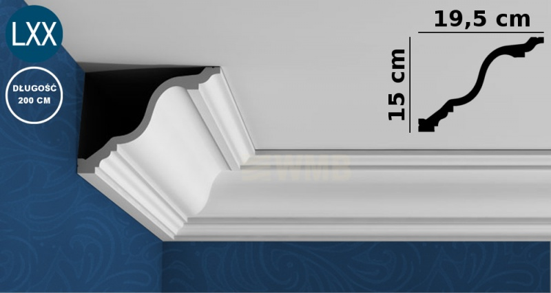 Ceiling Moulding C334
