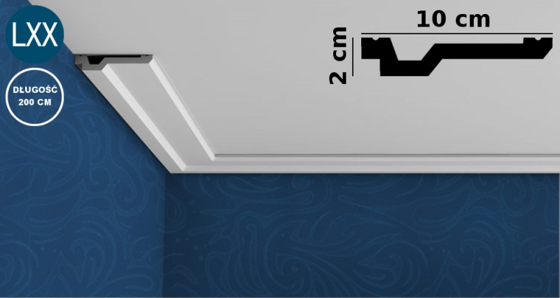Ceiling Moulding C356