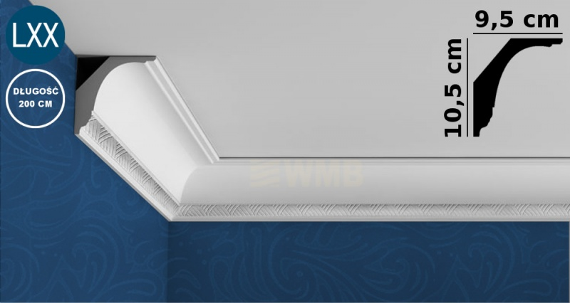 Ceiling Moulding C402 FLEX
