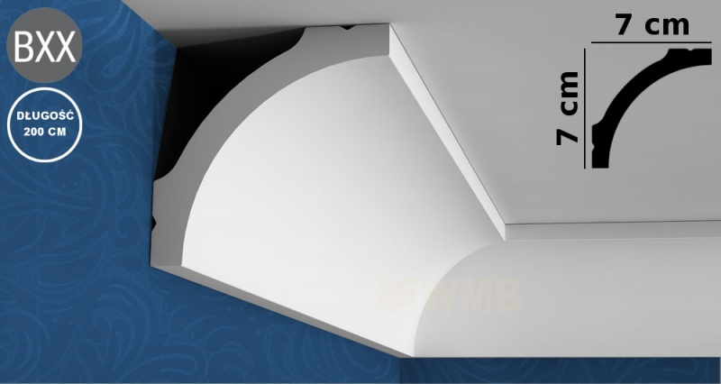 Ceiling Moulding Basixx CB522N