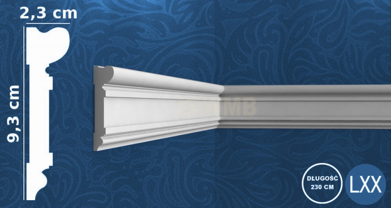 Decorative Moulding DX119-2300