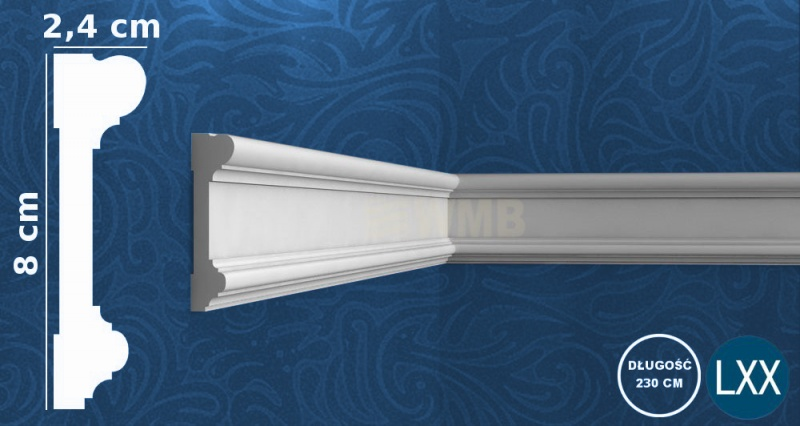 Wall Moulding DX121-2300