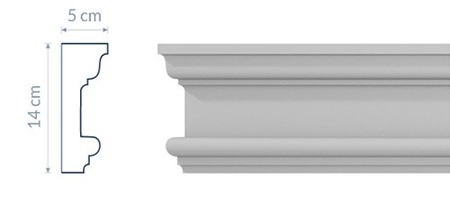 Socle Cornice GC12