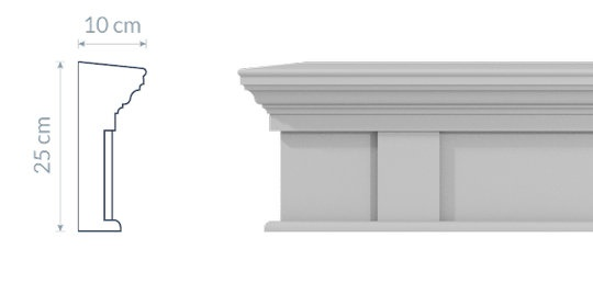 Window Cornice GO1