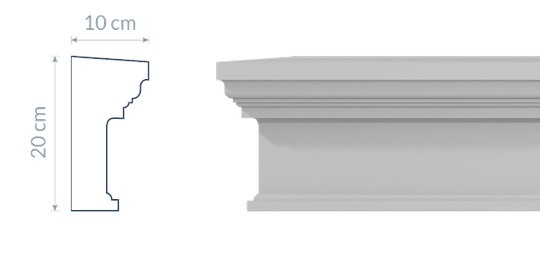 Window Cornice GO2