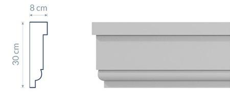 Belt Cornice GP8