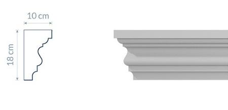 Crown Cornice GW12