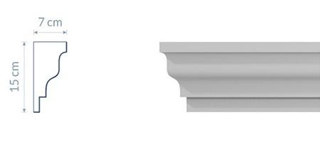 Crown Cornice GW17