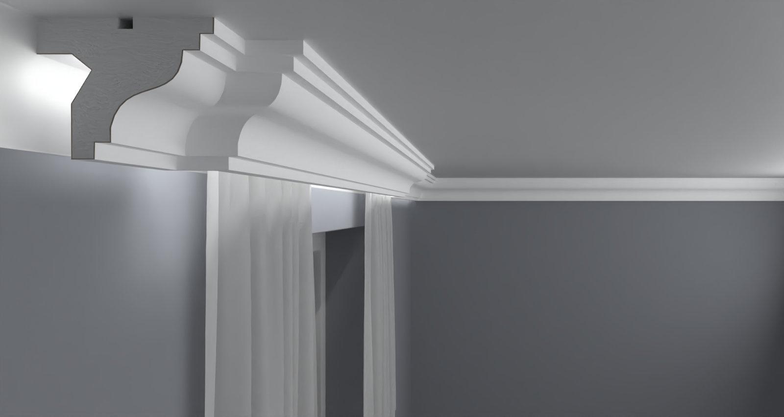 Curtain Moulding KS07
