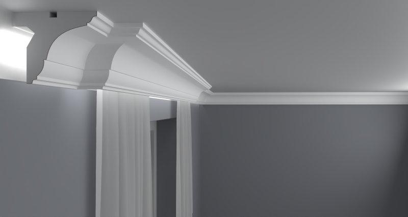 Curtain Moulding KS06