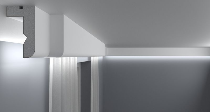 Curtain Moulding KS03