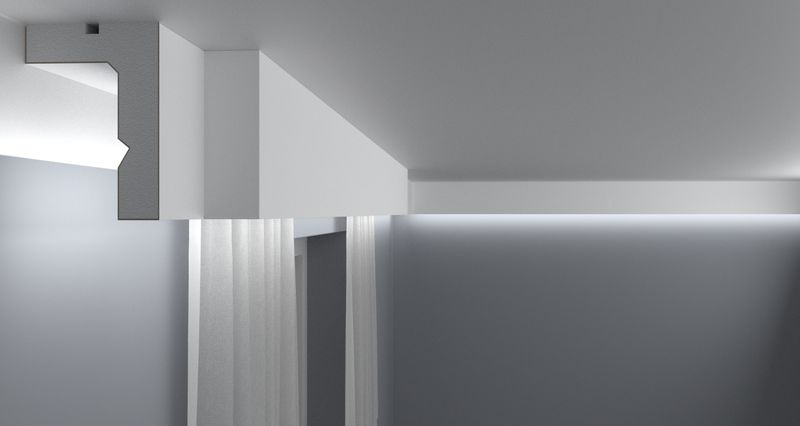 Curtain Moulding KS05