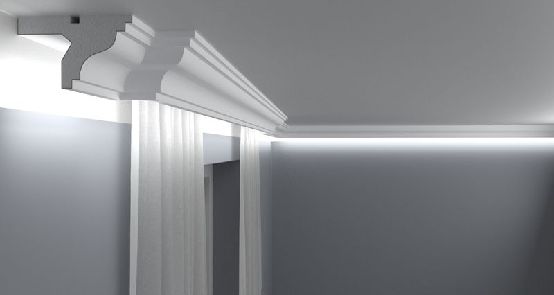 Curtain Moulding KS07
