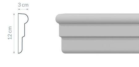 Fassadenleiste L10