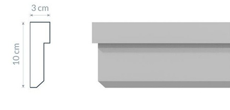 Fassadenleiste L13