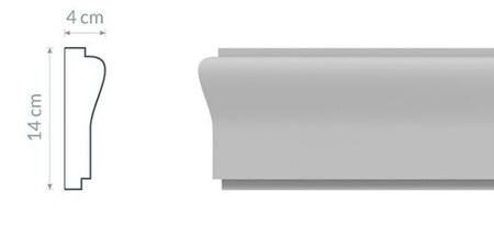 Listwa elewacyjna L14