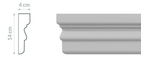 Fassadenleiste L16