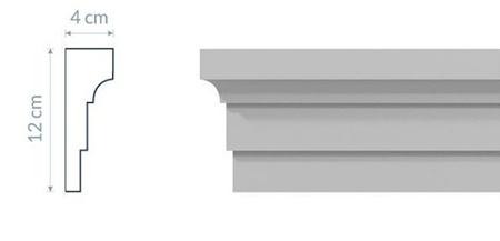 Opaska okienna elewacyjna L3