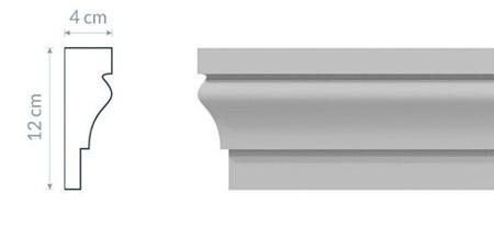 Fassadenleiste L6