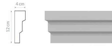 Fassadenleiste L9