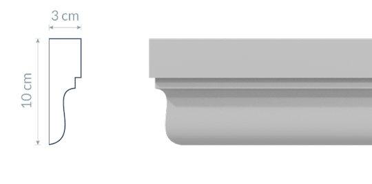 Fassadenleiste L20