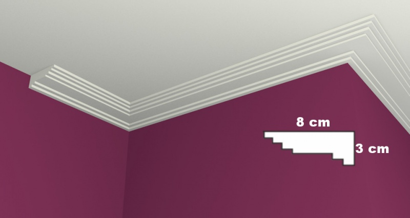 Ceiling Molding LW13