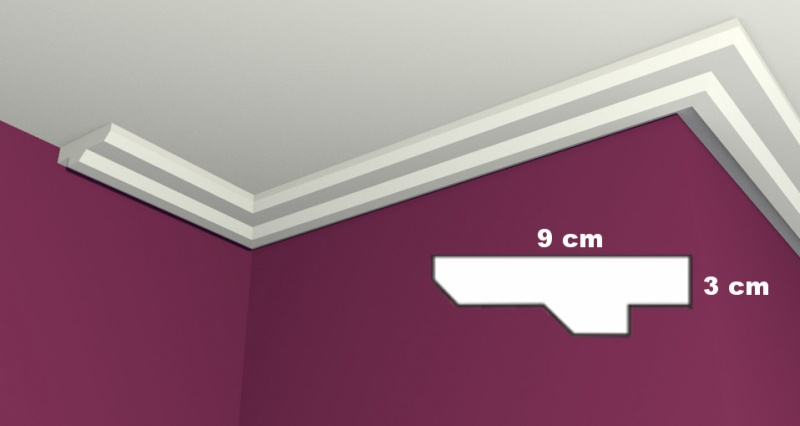 Ceiling Molding LW14