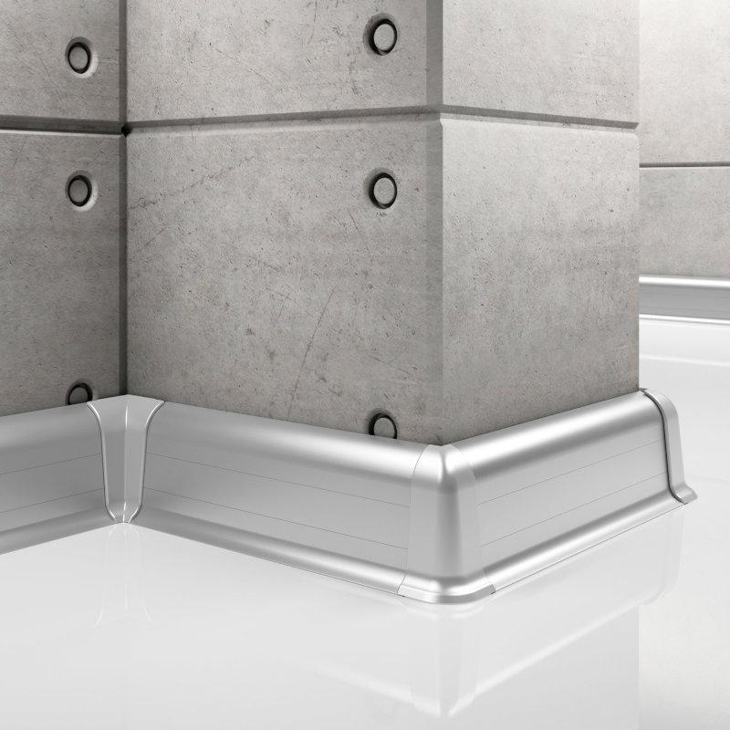 Aluminum Baseboard LP55