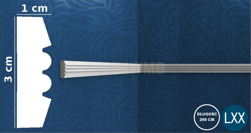 Wall Moulding P5021