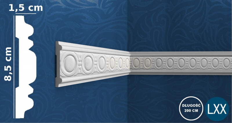 Wall Moulding P7030