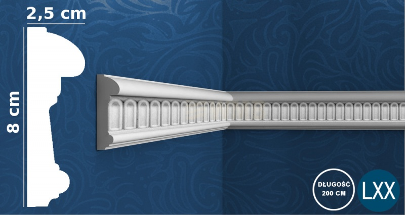 Wall Moulding P7040