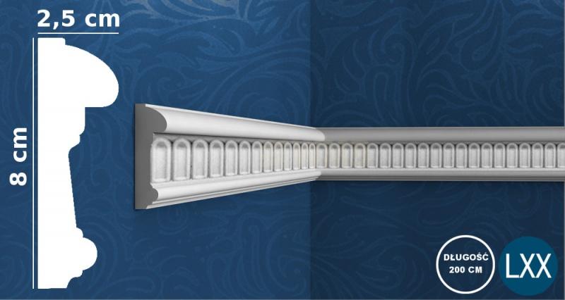 Wall Moulding P7040 Flex